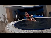 Having fun with my girlfriend in the SPA area