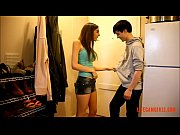 Perverted and wild sex from a young couple, first the guy fucks his sister and then the sister strapon brother.
