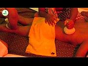 4 hands massage with hot compress for Relieving  stress - New techniques massage 2019